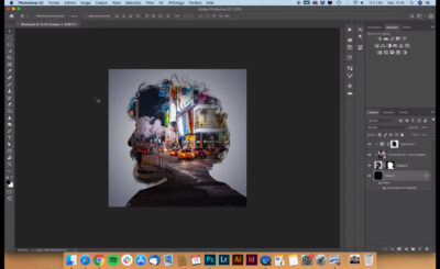 Images en surimpression dans Photoshop - une